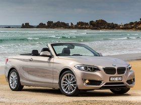 Ver foto 5 de BMW Serie 2 220i Cabrio Luxury Line F23 Australia 2015