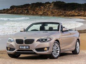 Ver foto 4 de BMW Serie 2 220i Cabrio Luxury Line F23 Australia 2015
