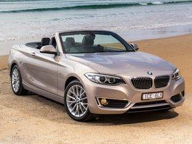 Ver foto 3 de BMW Serie 2 220i Cabrio Luxury Line F23 Australia 2015