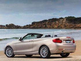 Ver foto 2 de BMW Serie 2 220i Cabrio Luxury Line F23 Australia 2015
