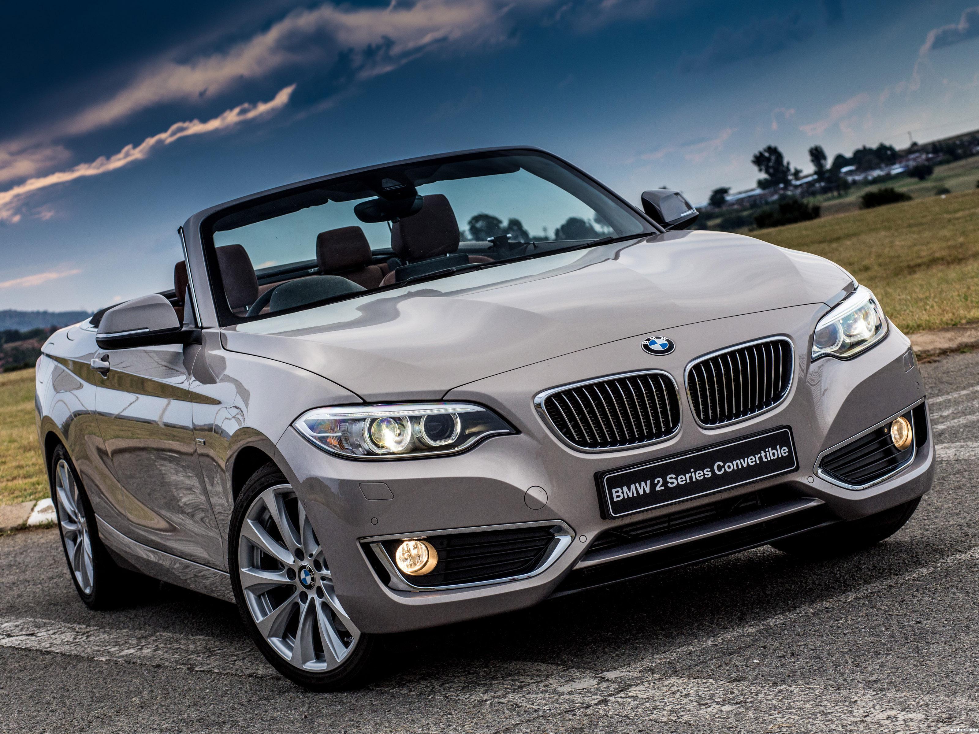 Foto 0 de BMW Serie 2 Cabrio 228i Luxury Line F23 2015