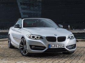 Ver foto 7 de BMW Serie 2 228i Cabrio Sport Line F23 2015
