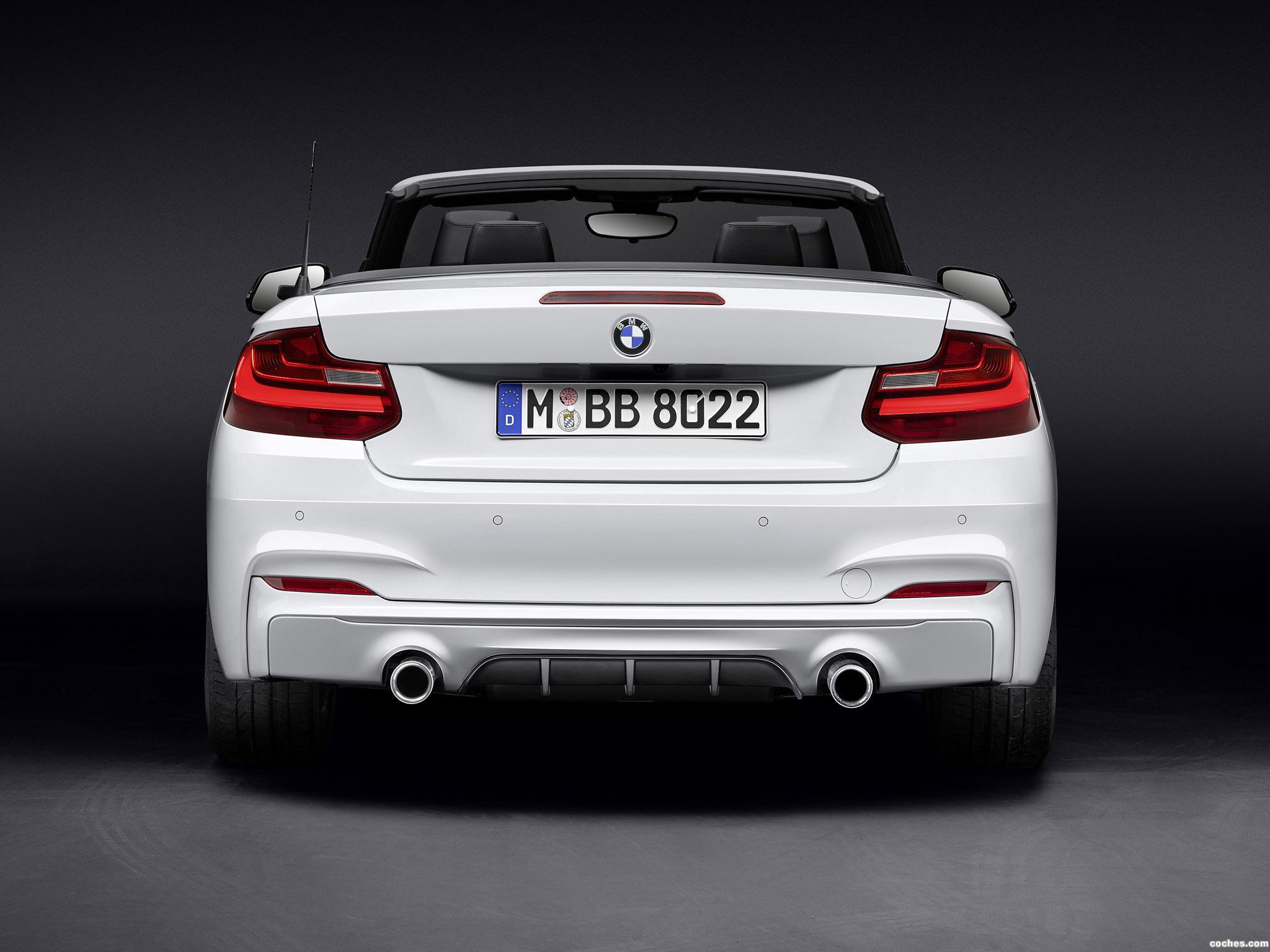 Foto 1 de BMW Serie 2 Cabrio M Performance Accessories F23 2015