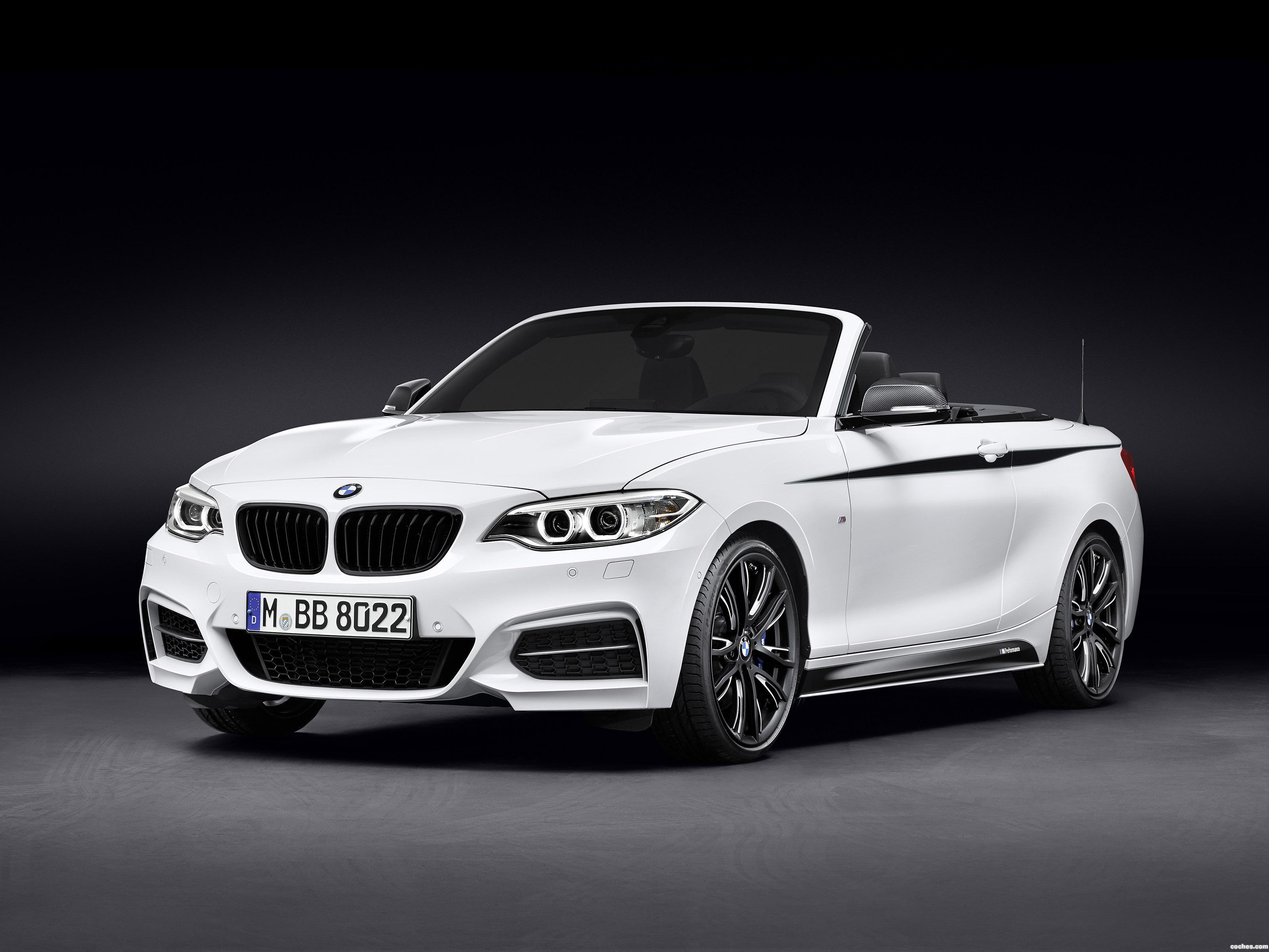 Foto 0 de BMW Serie 2 Cabrio M Performance Accessories F23 2015