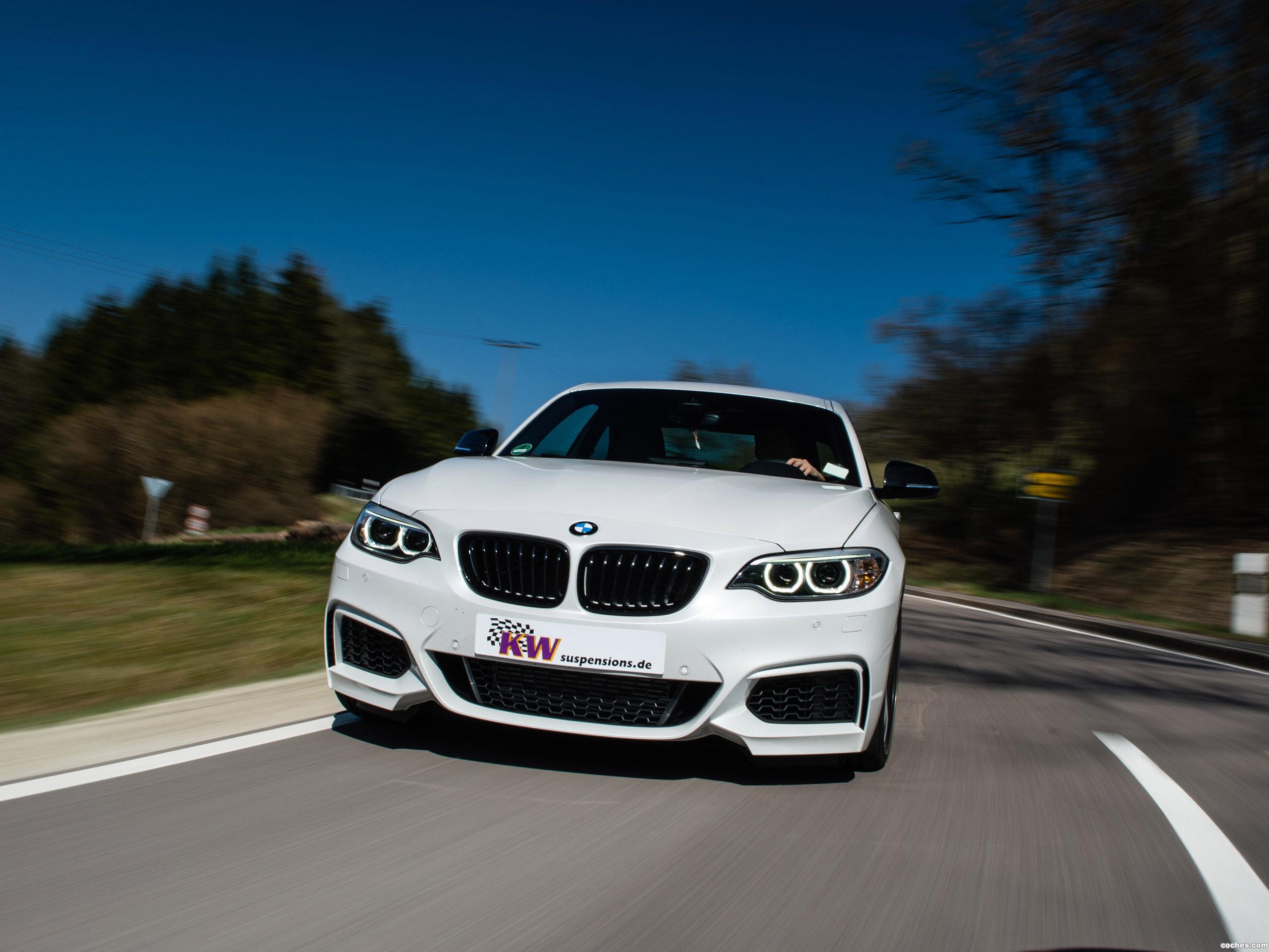 Foto 1 de BMW Serie 2 M235i KW Adaptive DDC Coilovers 2014