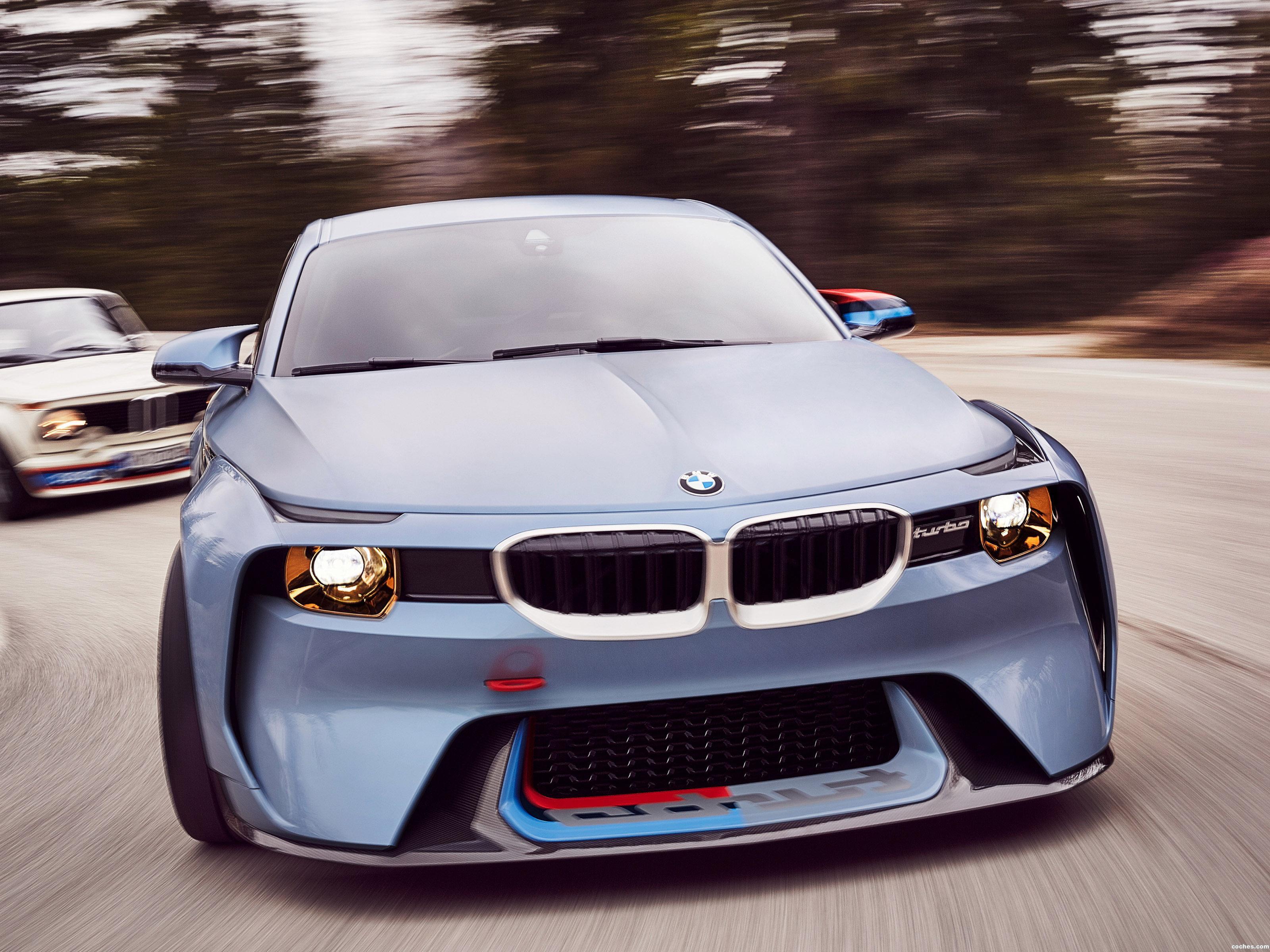 Foto 0 de BMW 2002 Hommage Concept 2016