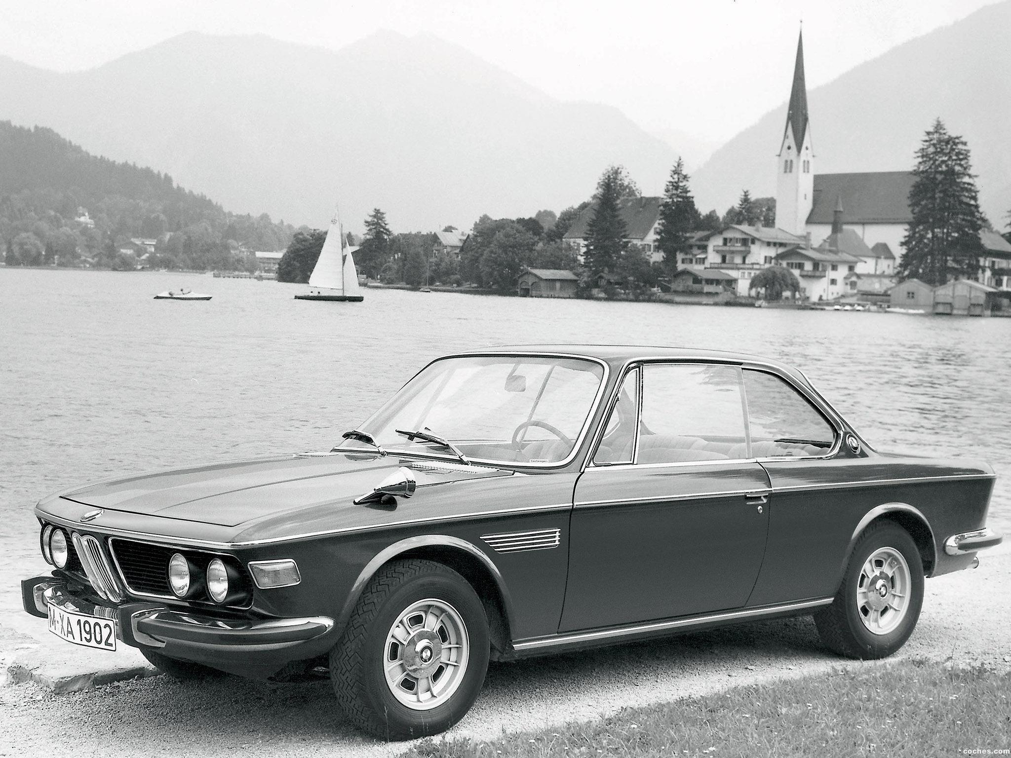 Foto 0 de BMW 2800 CS E9 1968