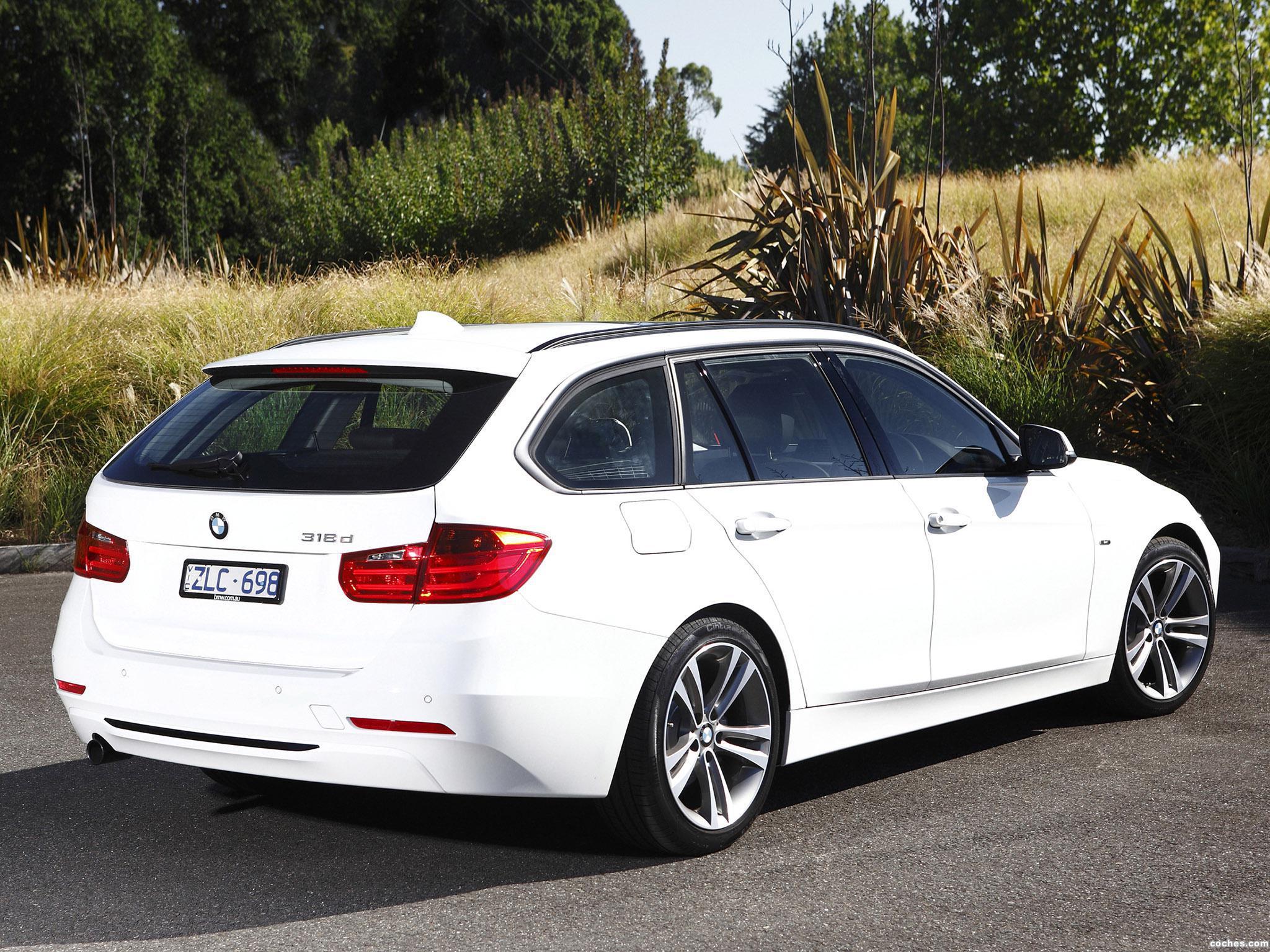 Foto 4 de BMW Serie 3 318d Touring Sport Line F31 Australia 2013