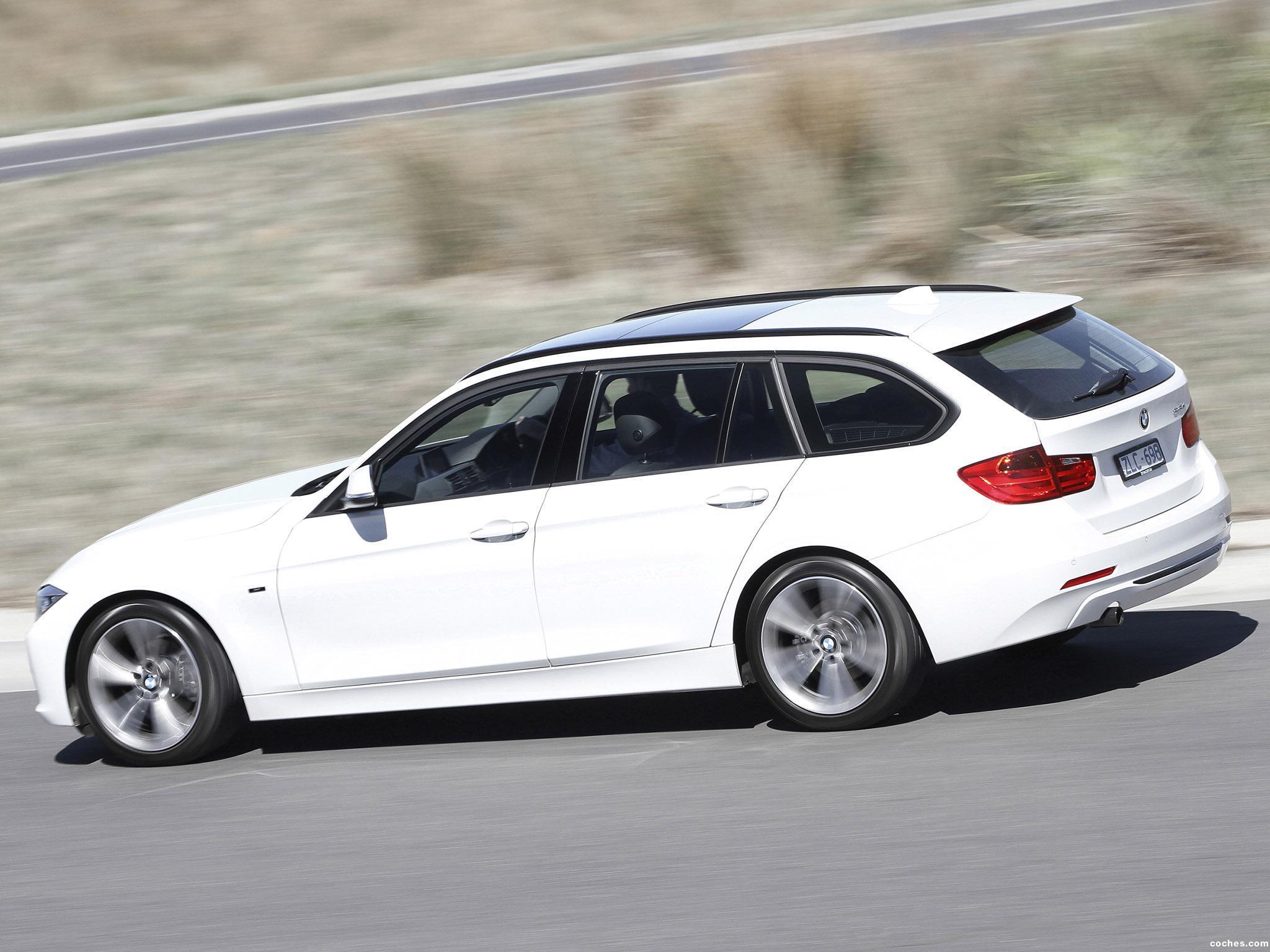 Foto 1 de BMW Serie 3 318d Touring Sport Line F31 Australia 2013