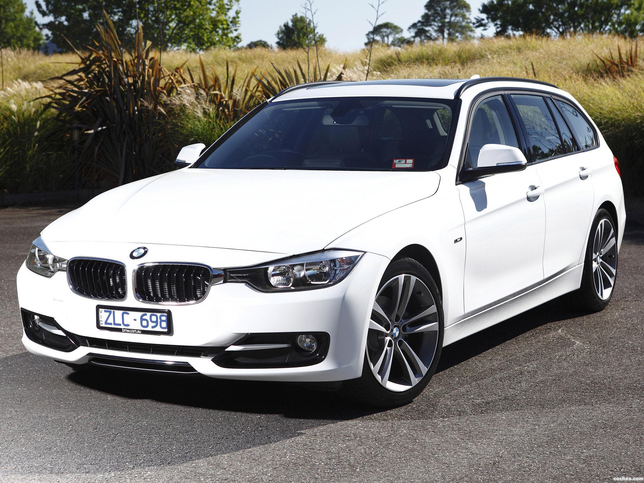 Foto 0 de BMW Serie 3 318d Touring Sport Line F31 Australia 2013