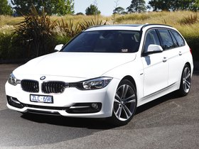 Fotos de BMW Serie 3 318d Touring Sport Line F31 Australia 2013