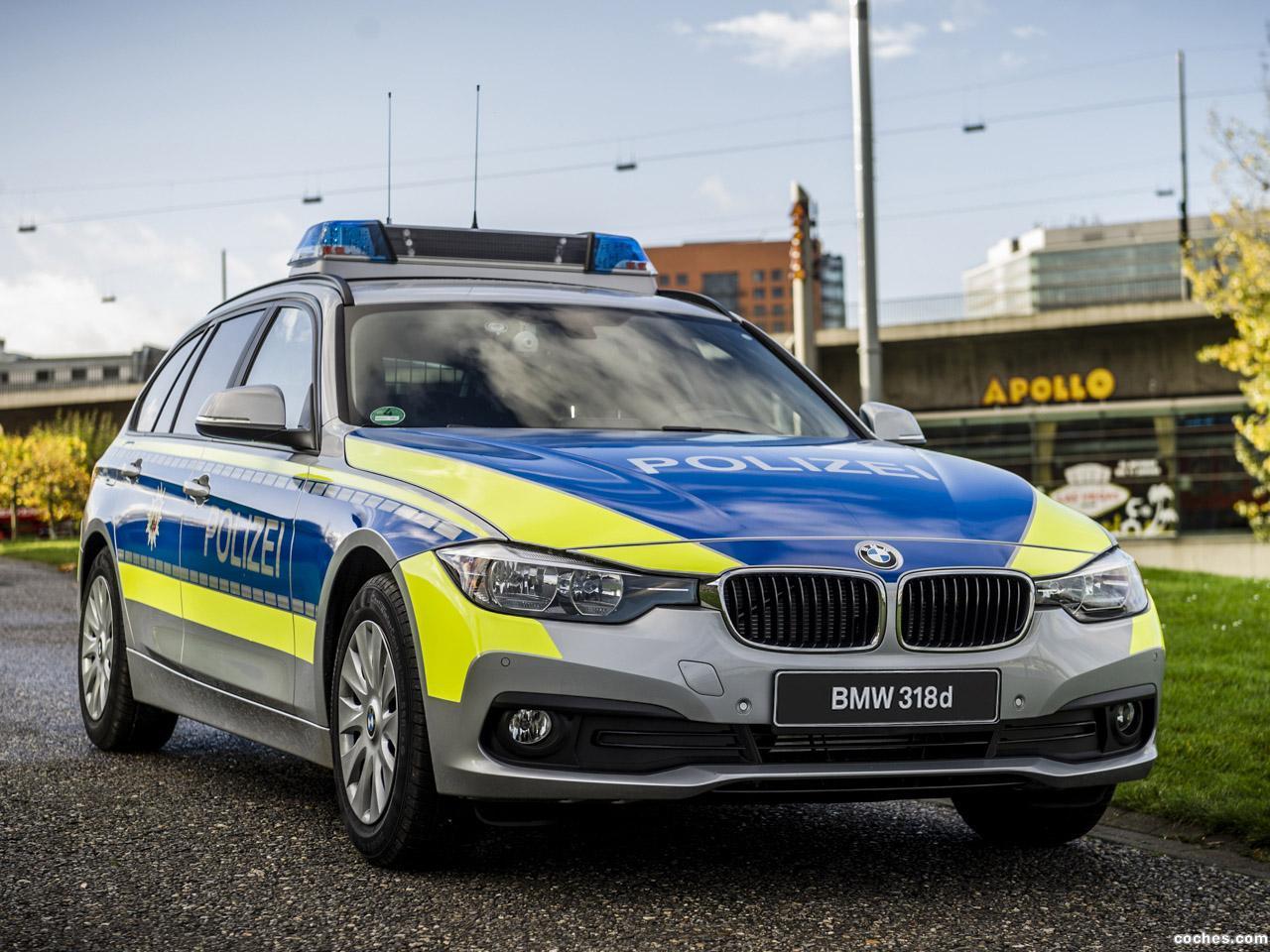 Foto 0 de BMW Serie 3 Touring 318d xDrive Polizei F31 2016