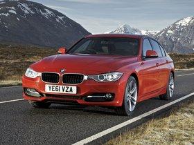 Ver foto 9 de BMW Serie 3 320d Sedan Sport Line F30 UK 2012