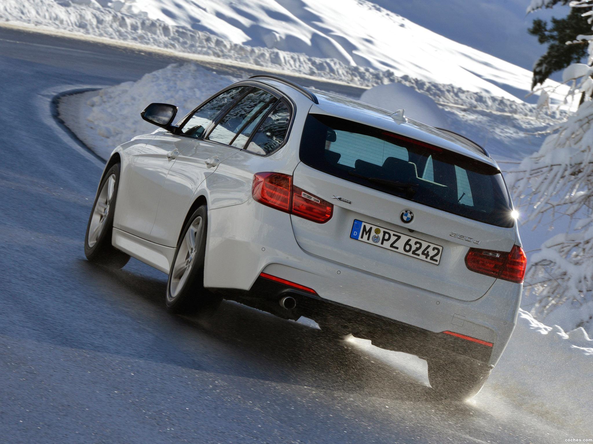 Foto 1 de BMW Serie 3 320d xDrive Touring M Sports Package F31 2013