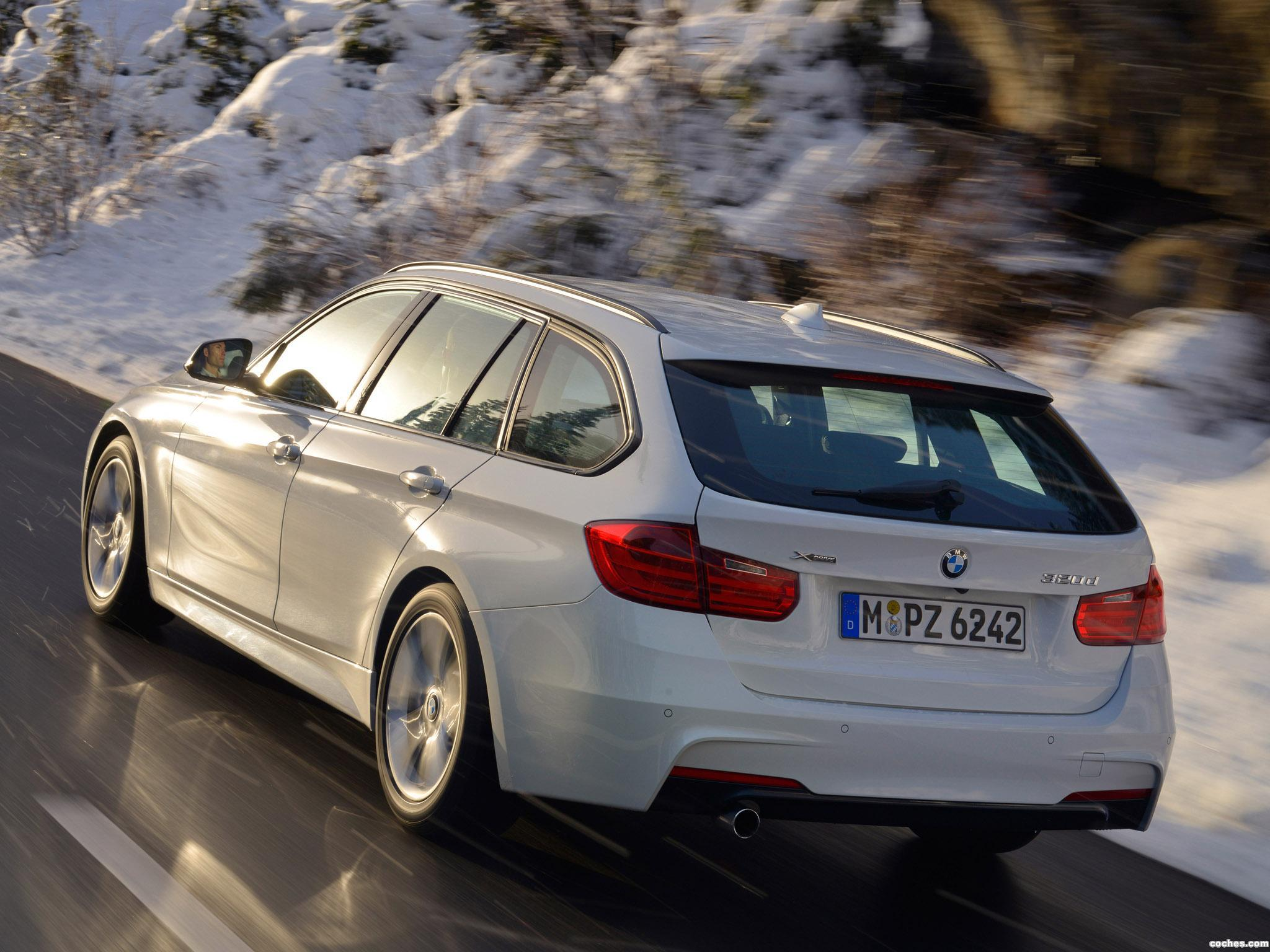 Foto 5 de BMW Serie 3 320d xDrive Touring M Sports Package F31 2013