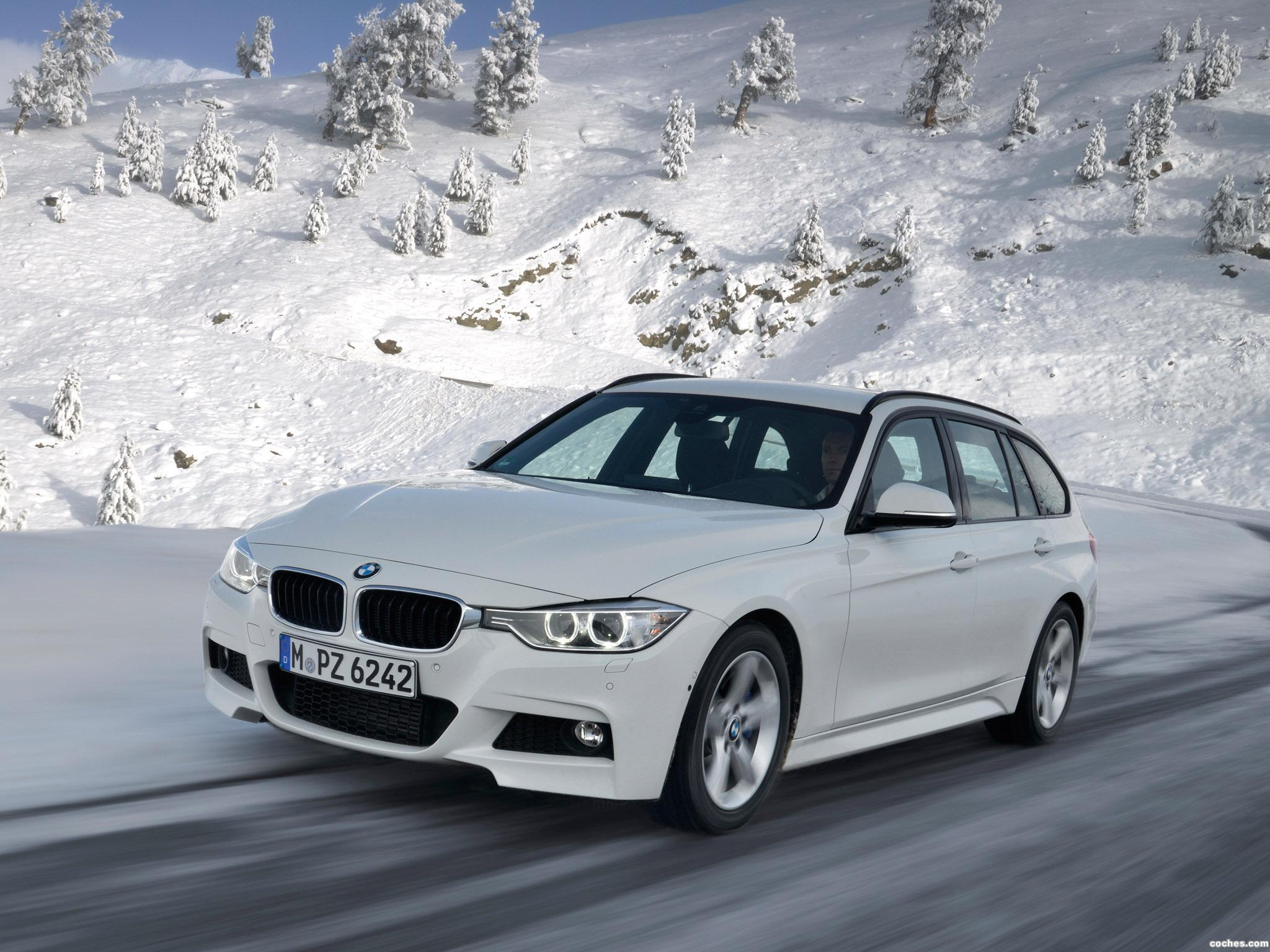 Foto 2 de BMW Serie 3 320d xDrive Touring M Sports Package F31 2013