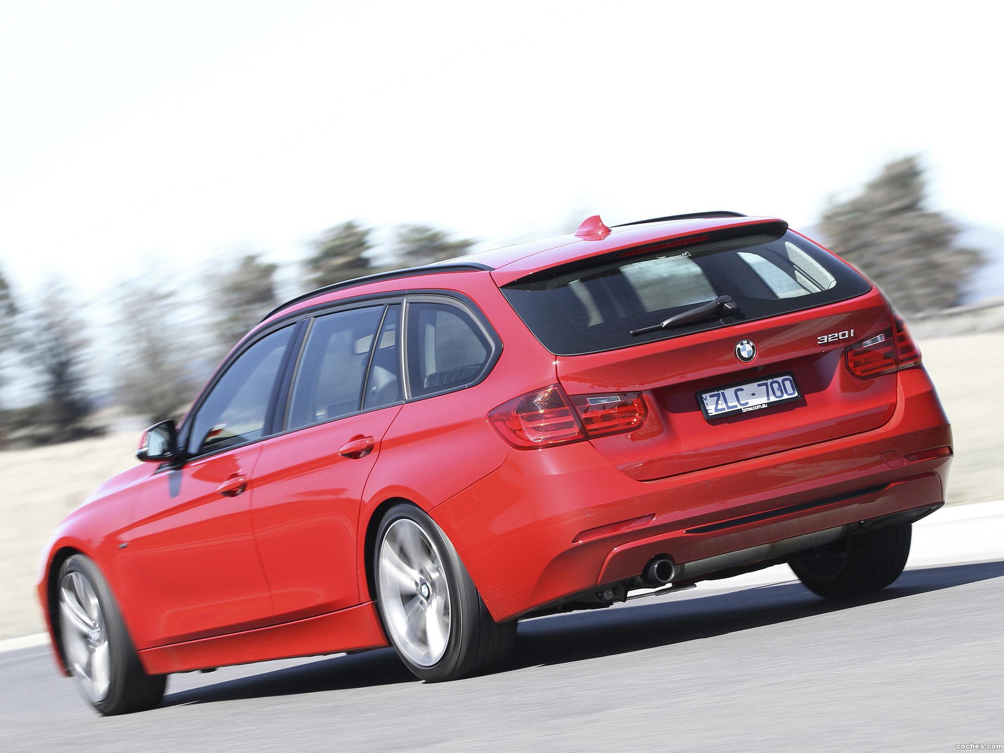 Foto 5 de BMW Serie 3 320i Touring Sport Line F31 Australia 2013
