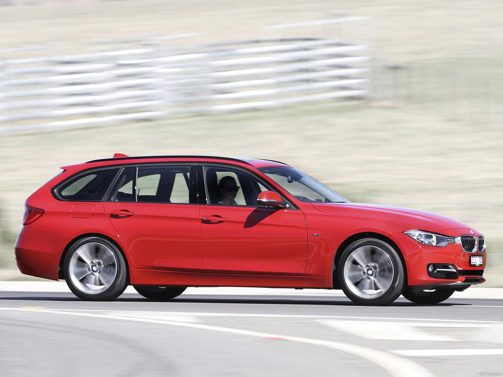 Foto 4 de BMW Serie 3 320i Touring Sport Line F31 Australia 2013