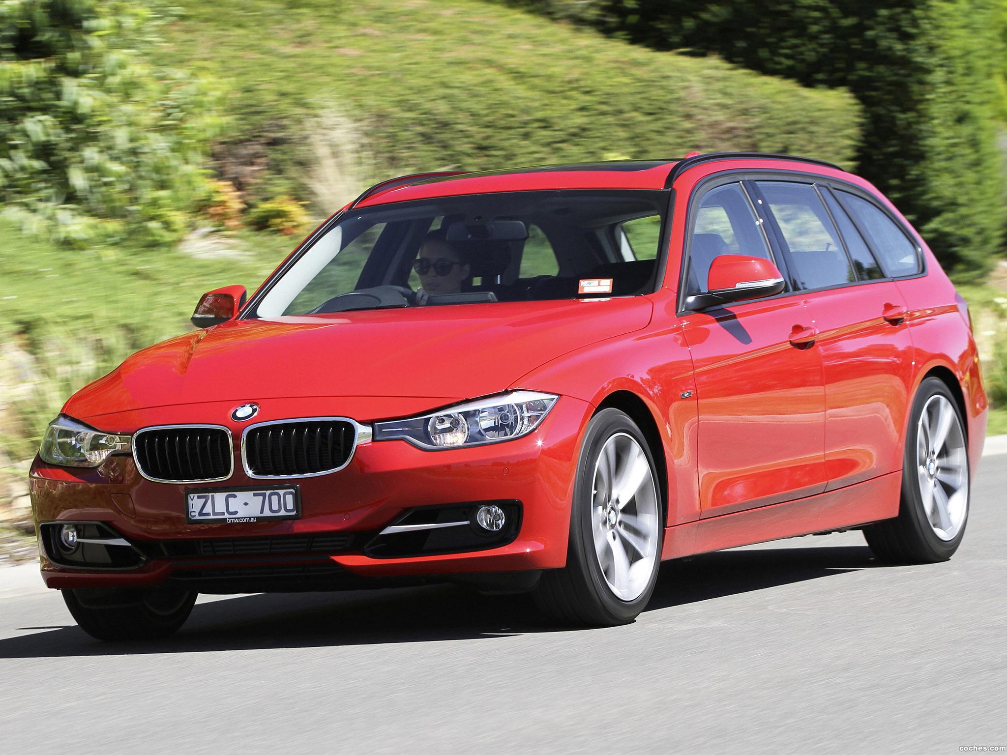 Foto 0 de BMW Serie 3 320i Touring Sport Line F31 Australia 2013