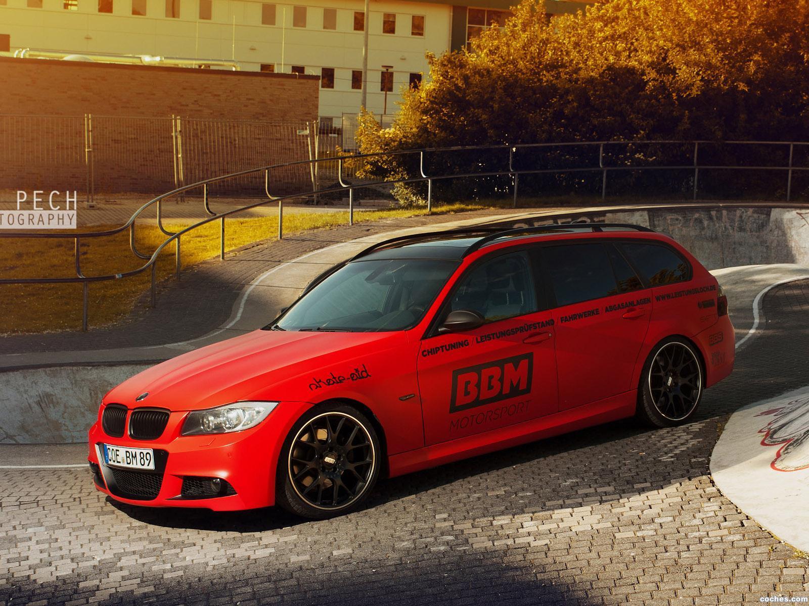 Foto 0 de BMW Serie 3 330d BBM Motorsport E91 2013