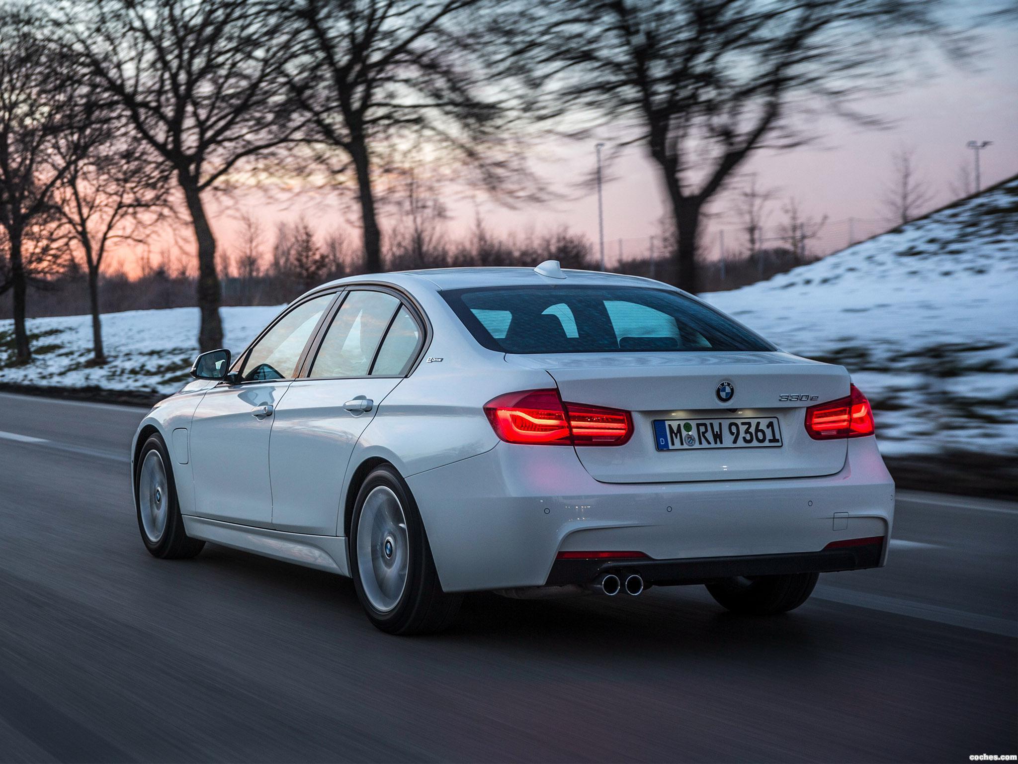 Foto 21 de BMW Serie 3 330e M Sport F30 2016