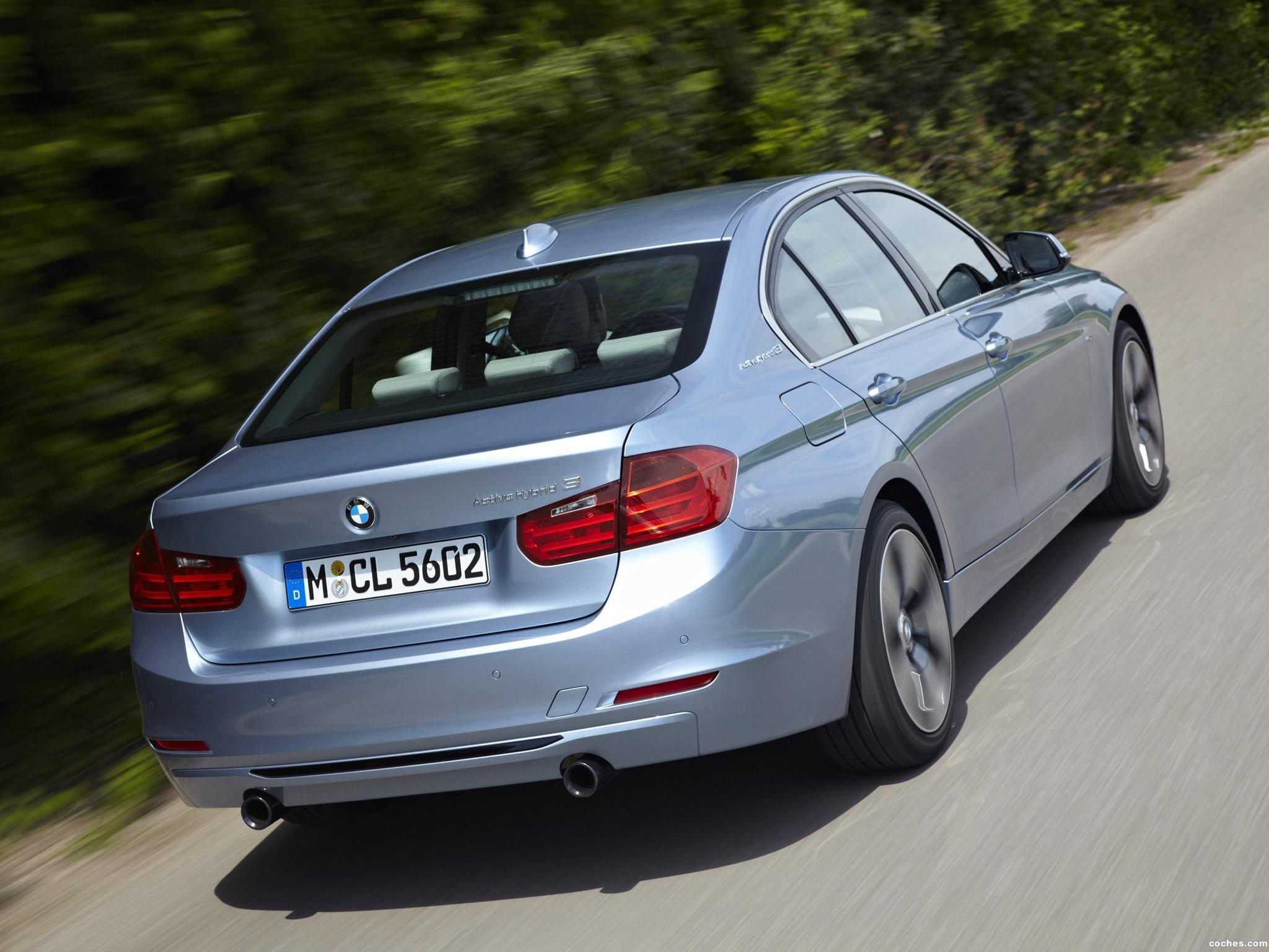 Foto 9 de BMW Serie 3 ActiveHybrid 3 F30 2012