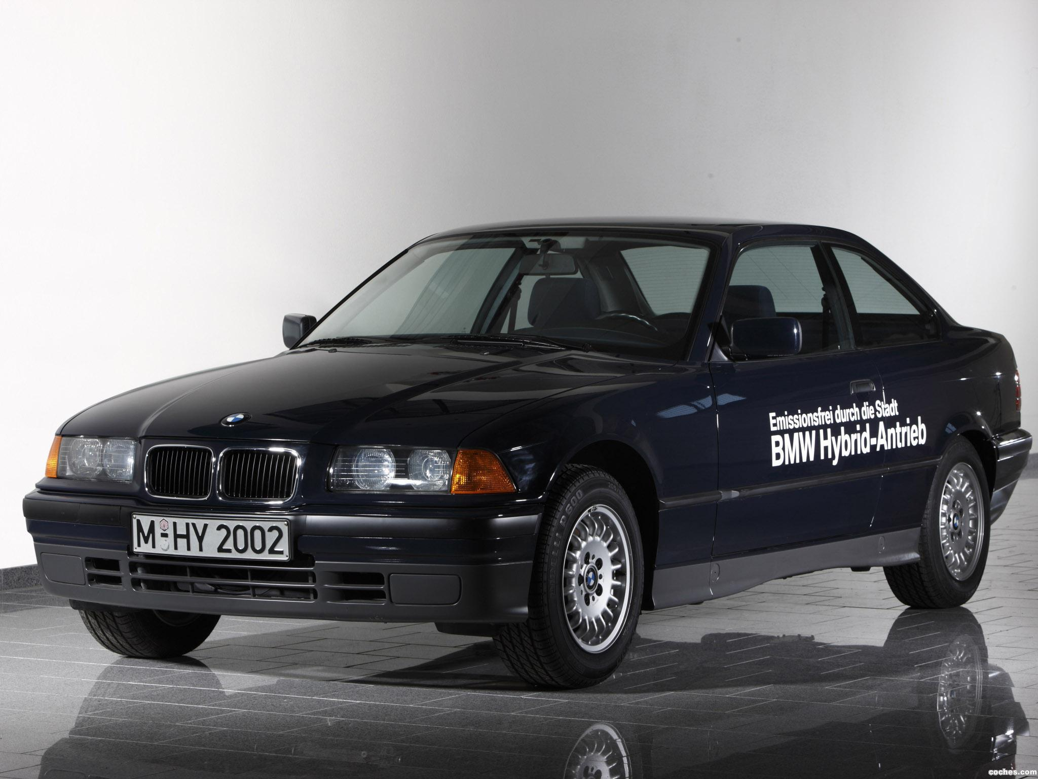 Foto 0 de BMW Serie 3 Coupe Hybrid Concept E36 1994