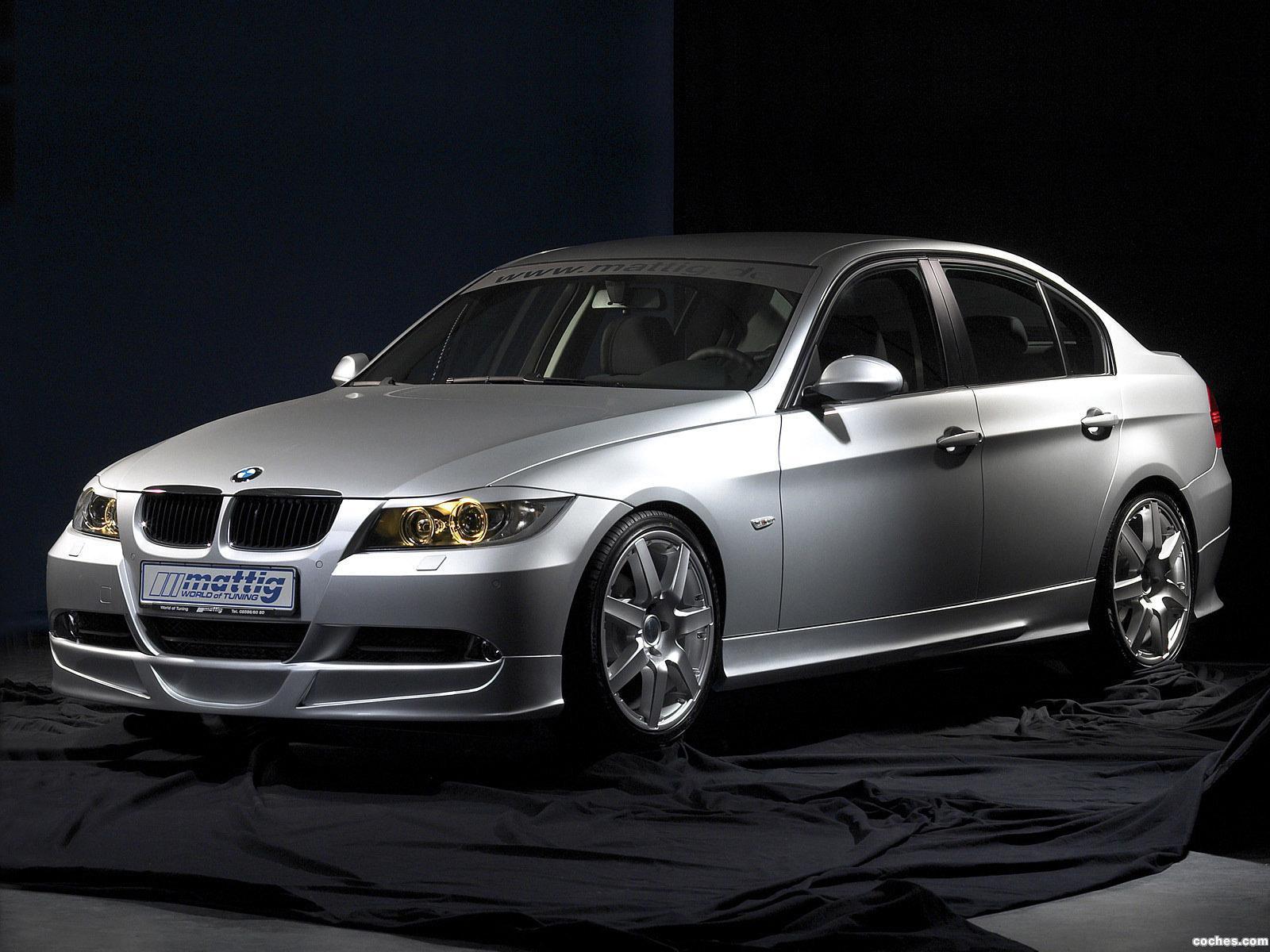 Foto 0 de BMW Serie 3 Sedan Mattig E90 2011