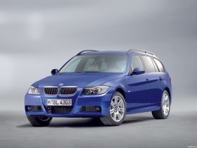 Ver foto 1 de BMW Serie 3 Touring E91 M package 2005