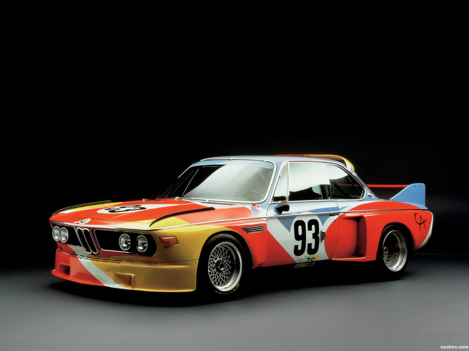 Foto 0 de BMW 3-0 CSL Art Car by Alexander Calder E9 1975