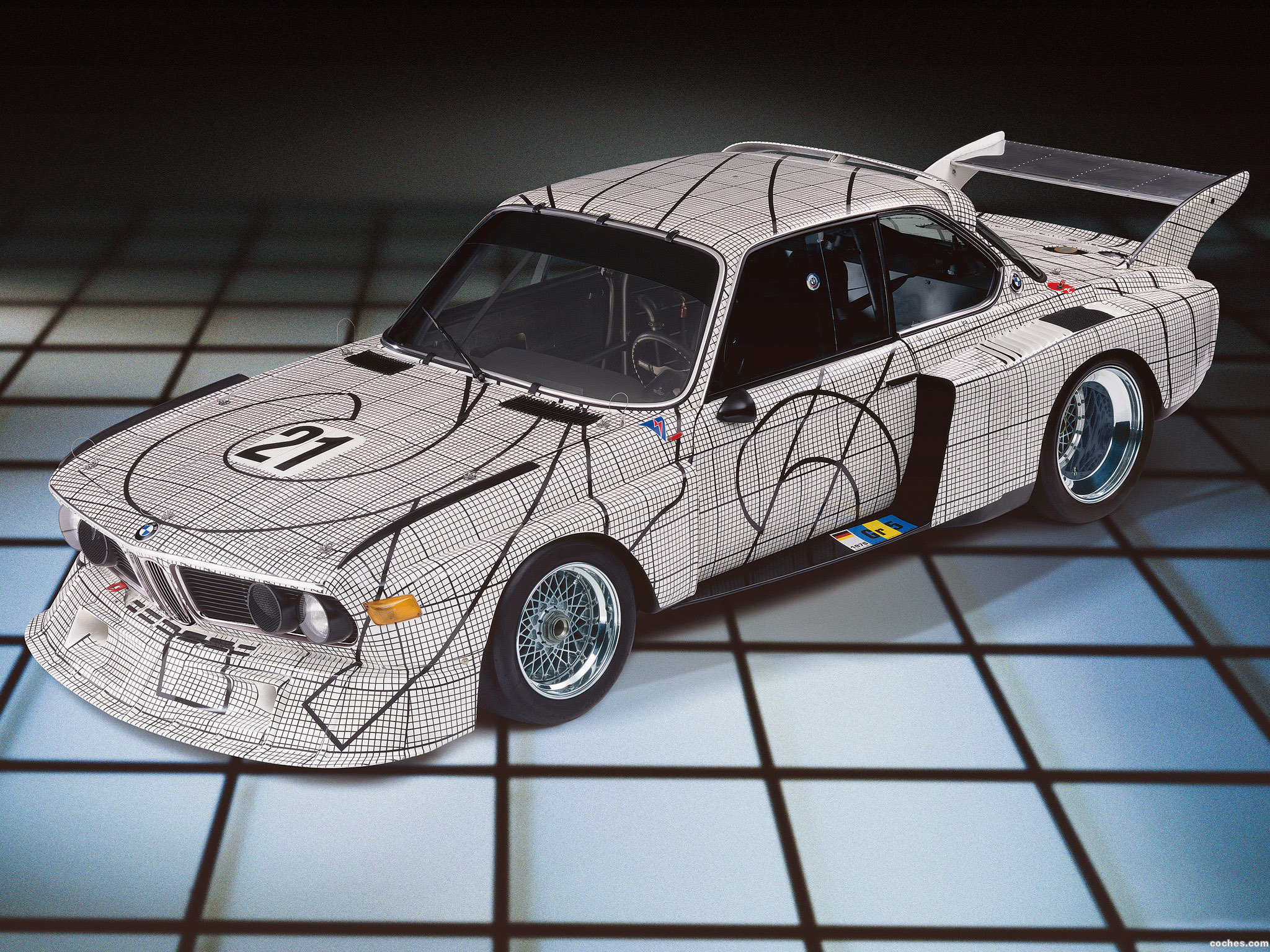 Foto 0 de BMW 3.0 CSL Art Car by Frank Stella E9 1976