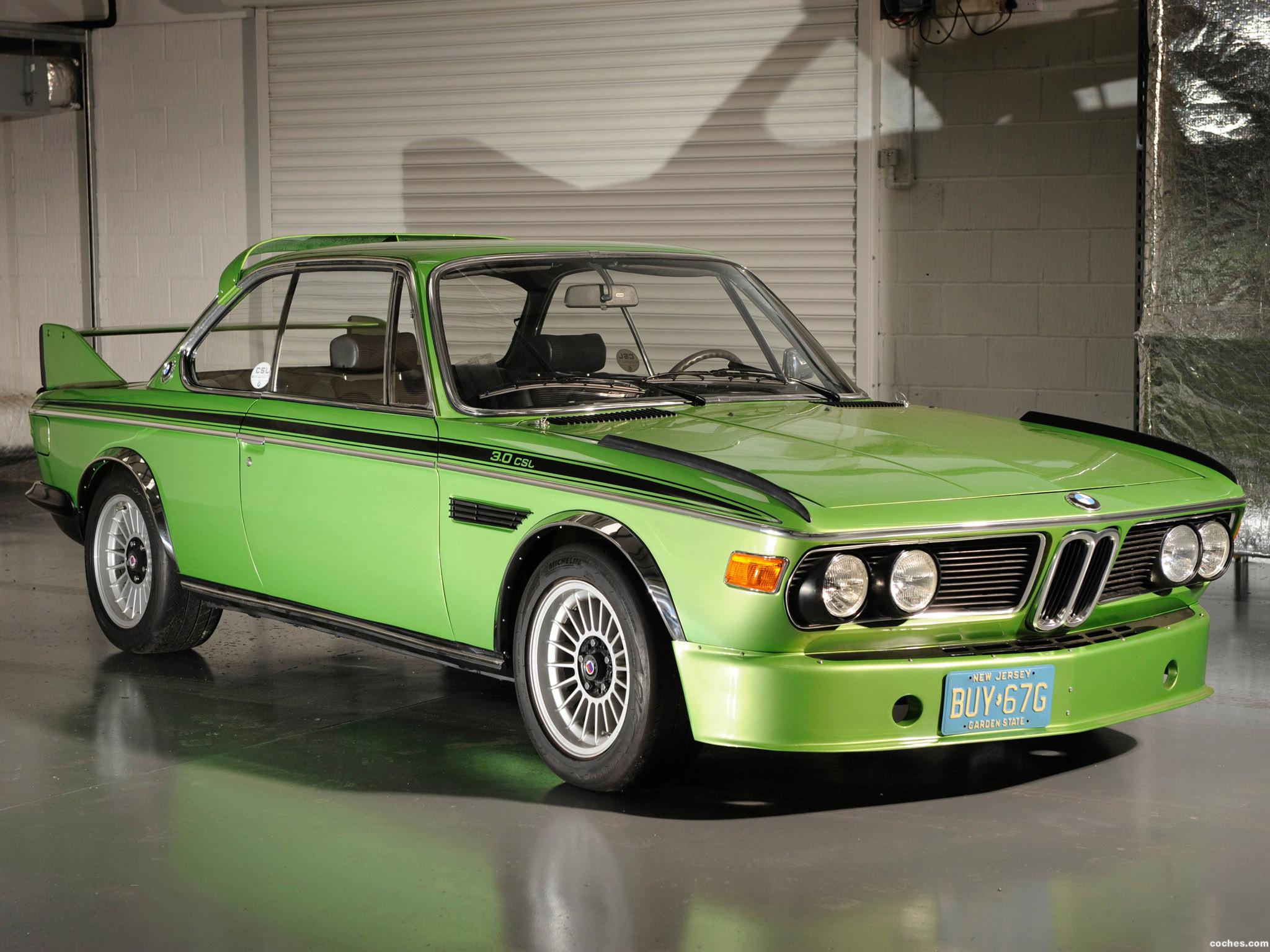 BMW 30 CSL vintage model car