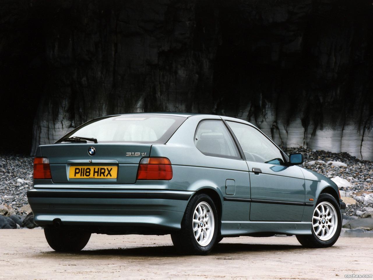 Foto 2 de BMW Serie 3 318ti Compact E36 UK 1994