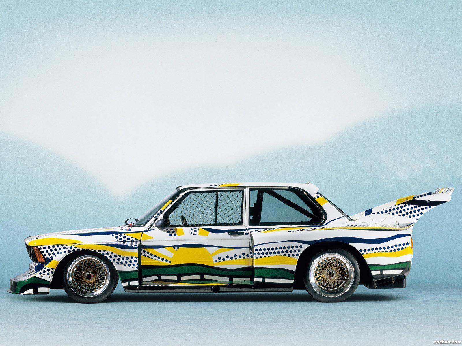 Foto 4 de BMW Serie 3 320i Turbo Group 5 Art Car by Roy Lichtenstein E21 1977
