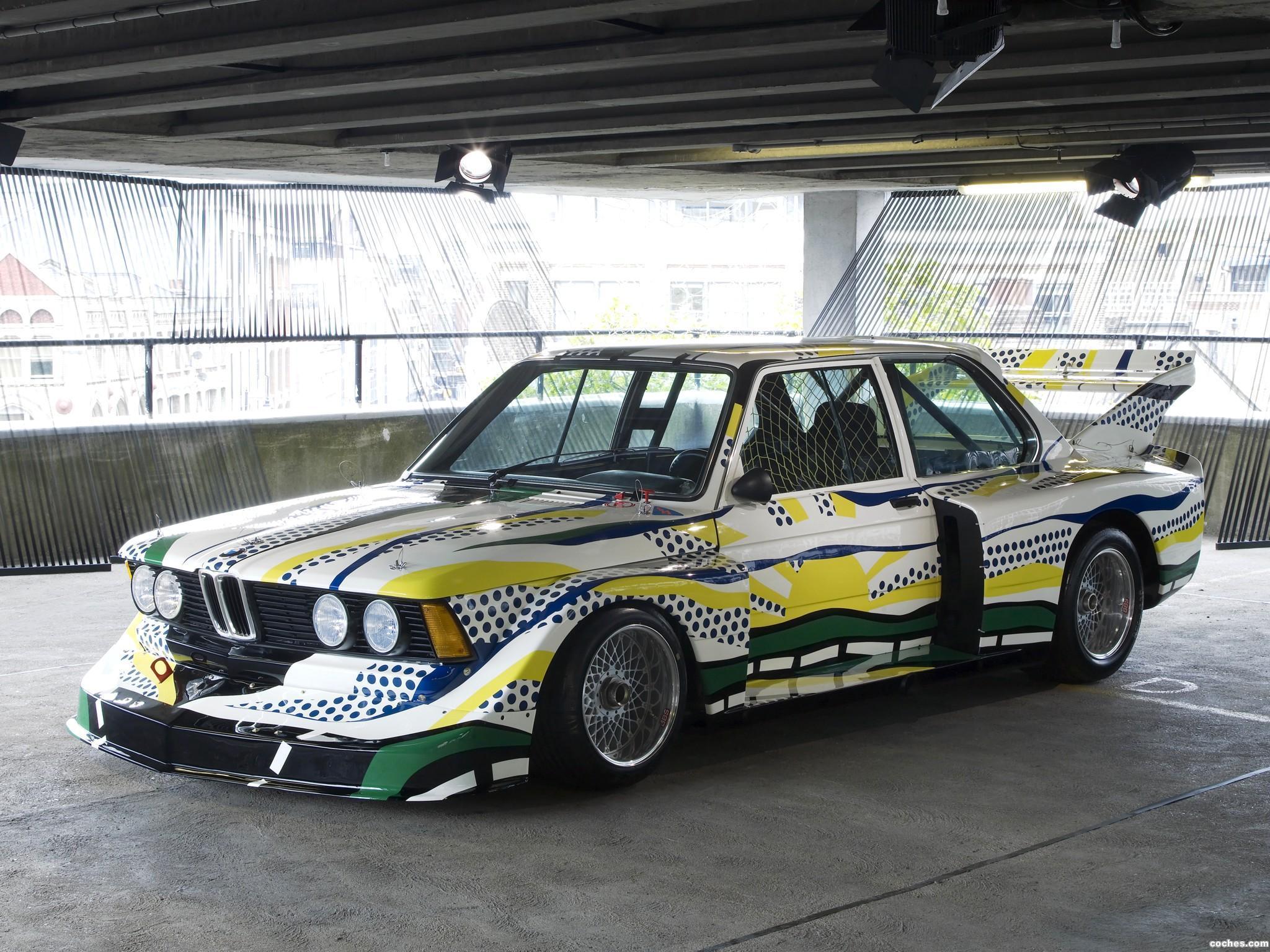 Foto 0 de BMW Serie 3 320i Turbo Group 5 Art Car by Roy Lichtenstein E21 1977