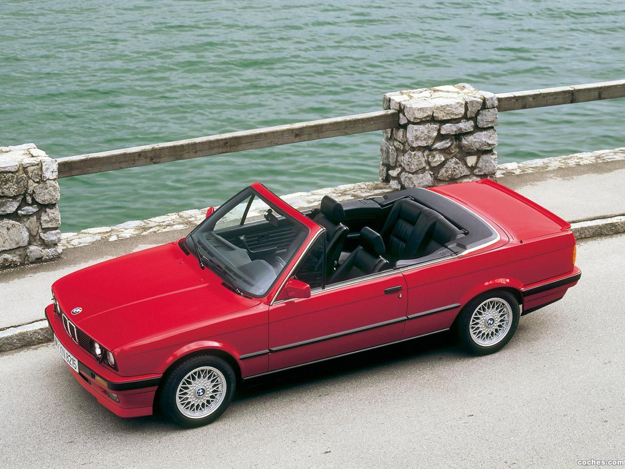fotos de bmw serie 3 325i cabrio e30 1986 foto 1. Black Bedroom Furniture Sets. Home Design Ideas
