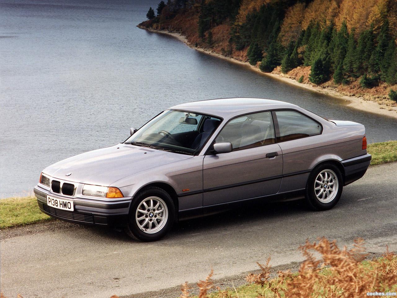 Foto 2 de BMW Serie 3 Coupe 325i E36 1991