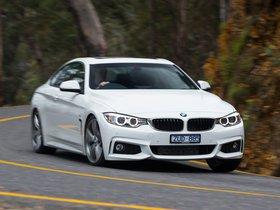 Fotos de BMW Serie 4 420d Coupe M Sport Package F32 Australia 2013