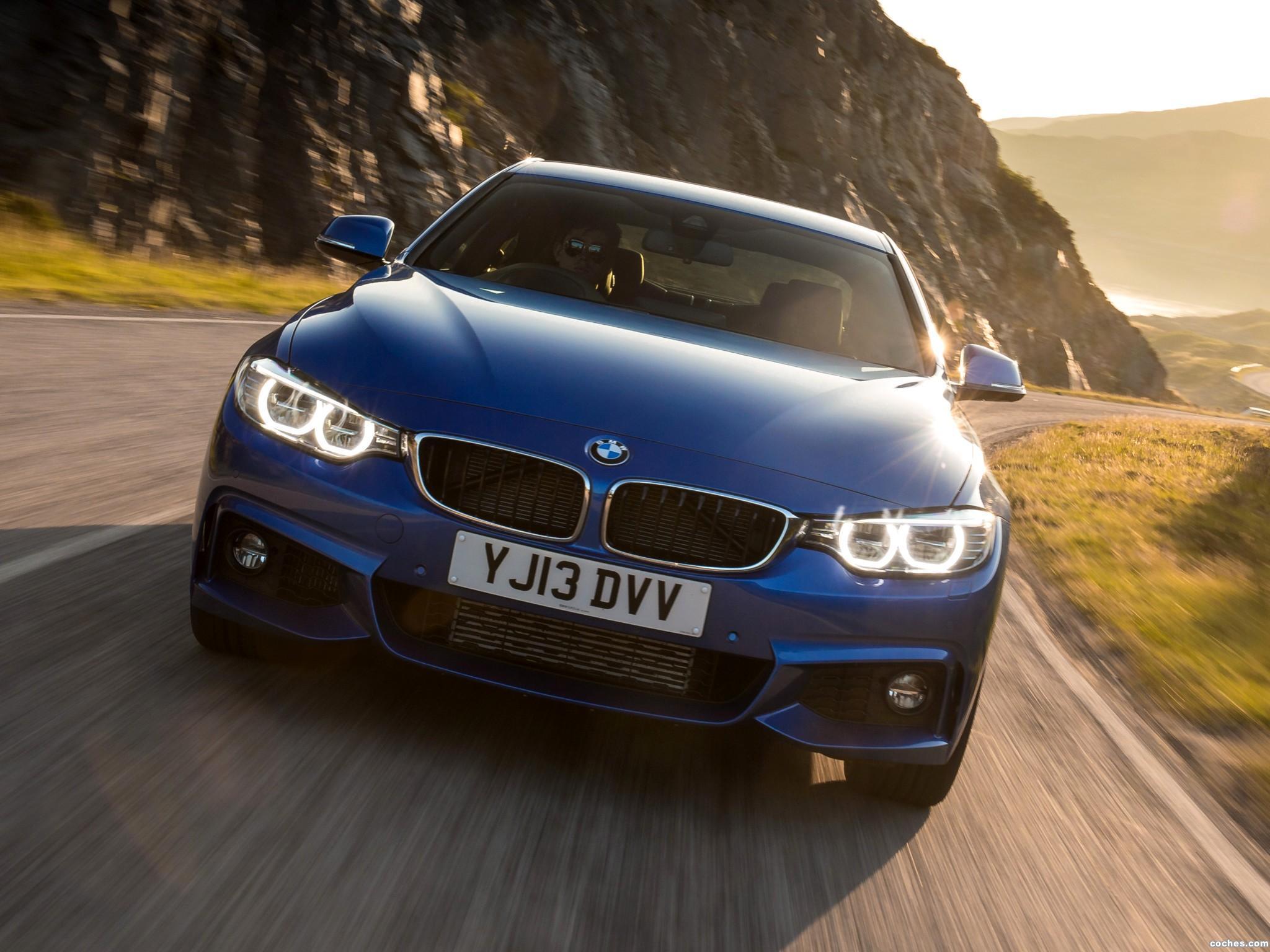 Foto 2 de BMW Serie 4 420d Coupe M Sport Package UK F32 2013