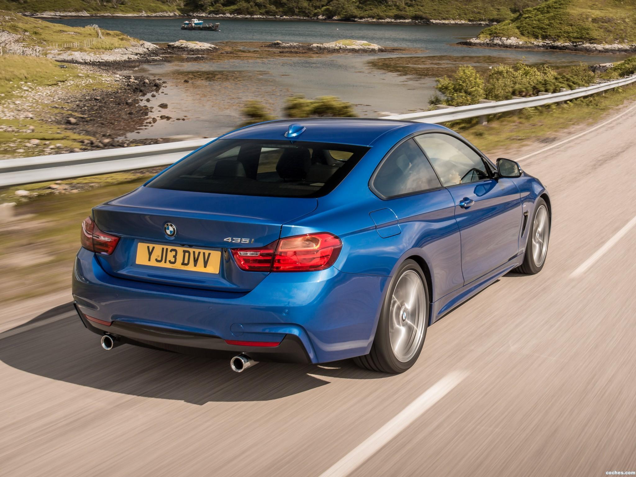 Foto 1 de BMW Serie 4 420d Coupe M Sport Package UK F32 2013