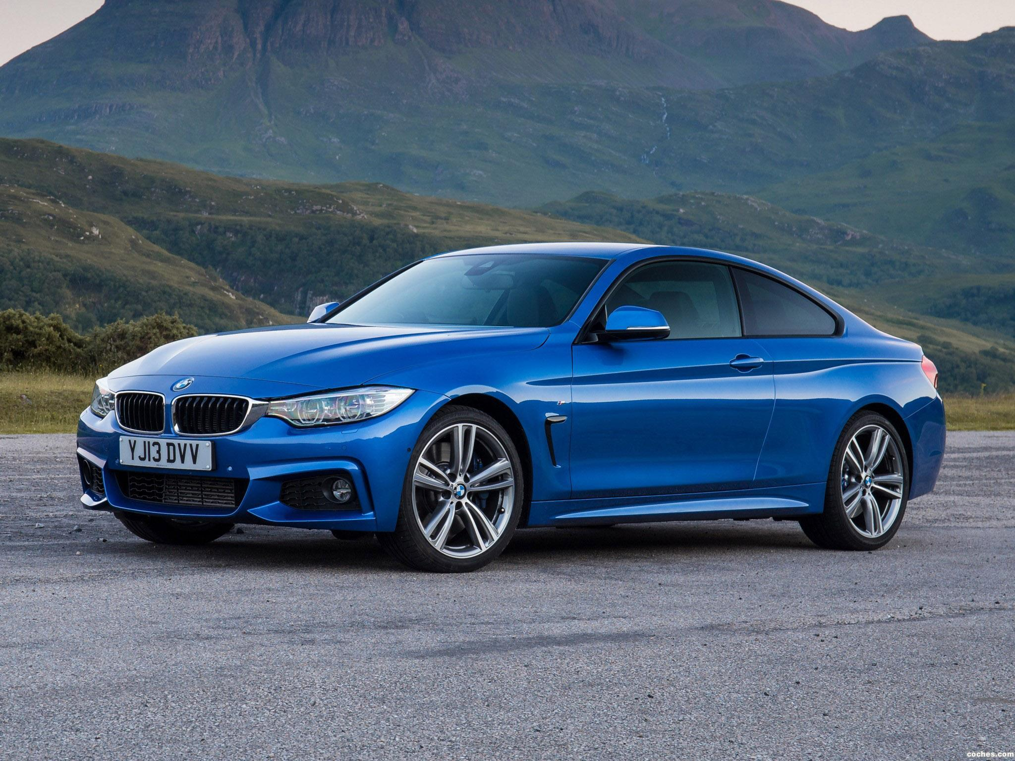 Foto 0 de BMW Serie 4 420d Coupe M Sport Package UK F32 2013