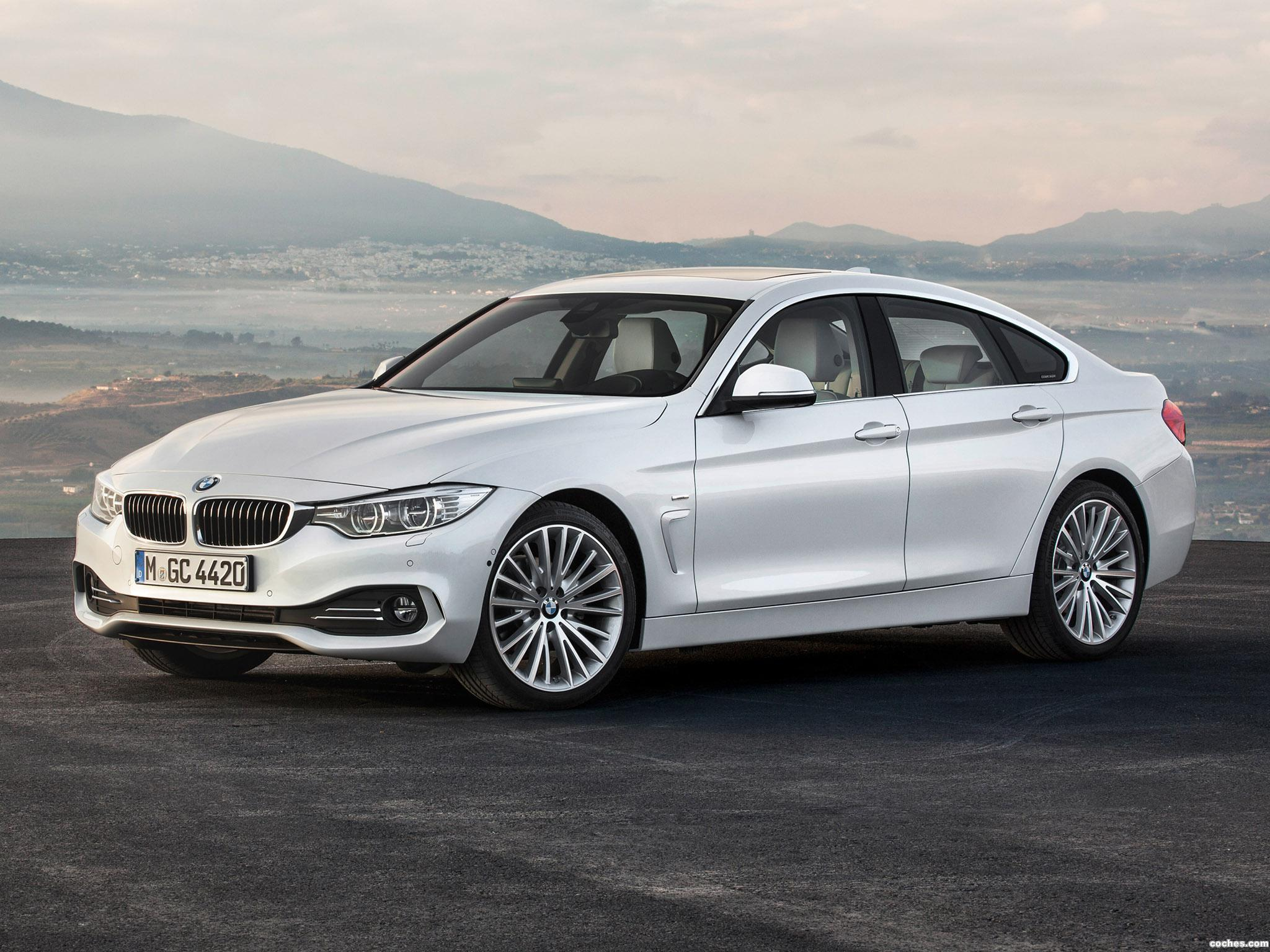 fotos de bmw serie 4 420d gran coupe luxury line f36 2014