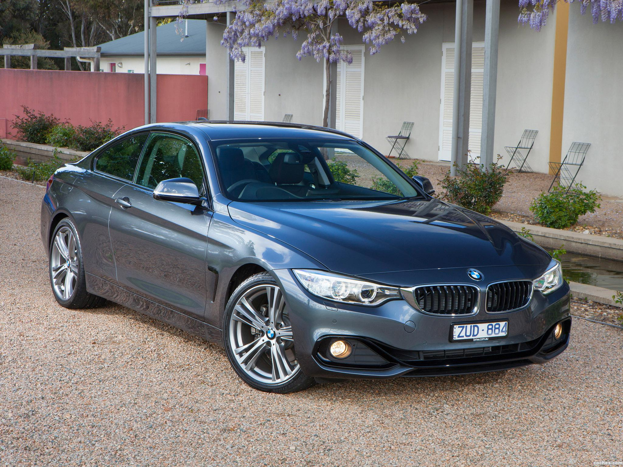 Foto 0 de BMW Serie 4 428i Coupe Sport Line F32 Australia 2013