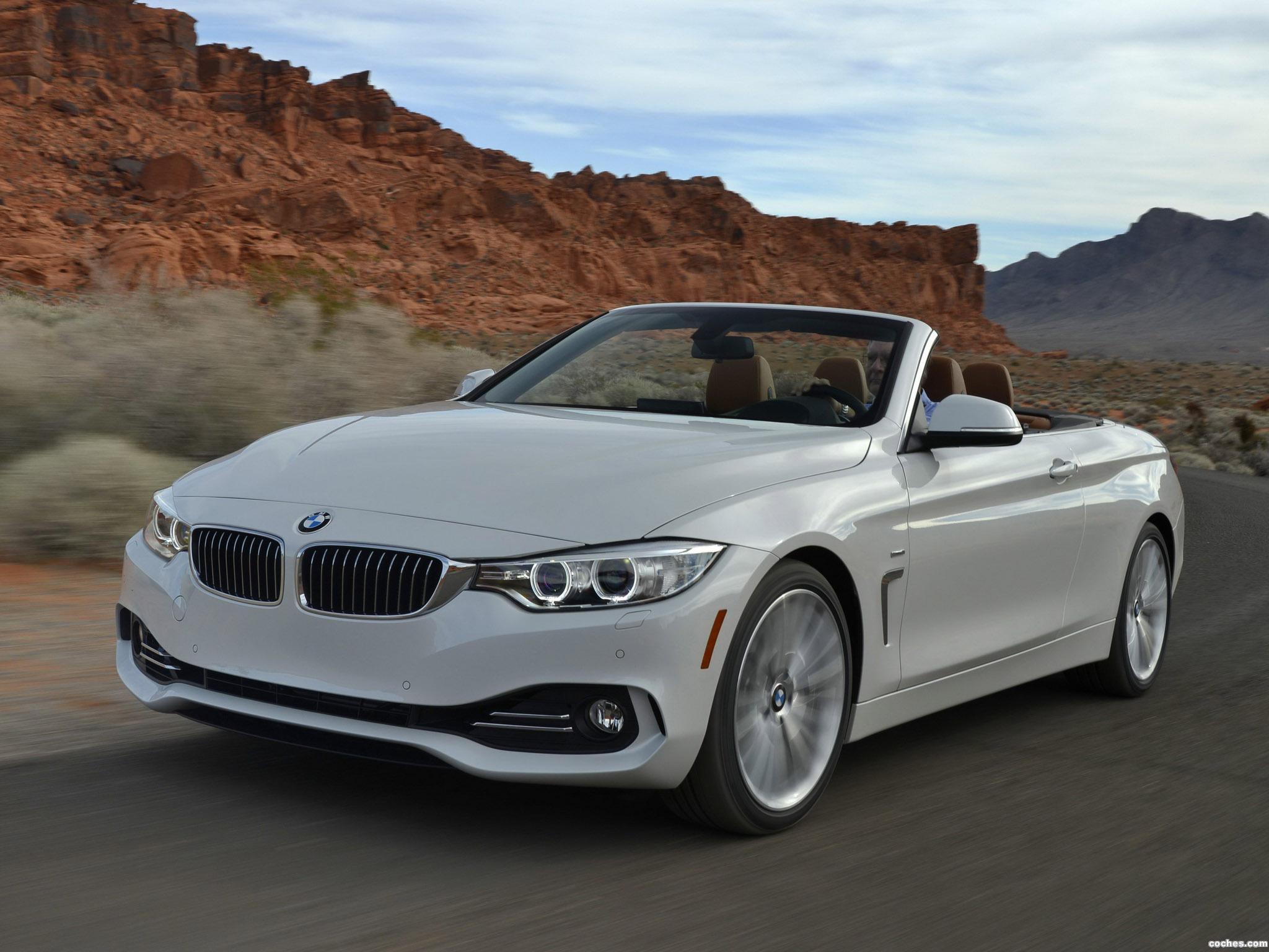 Foto 0 de BMW Serie 4 435i Cabrio Luxury Line F33 USA 2014