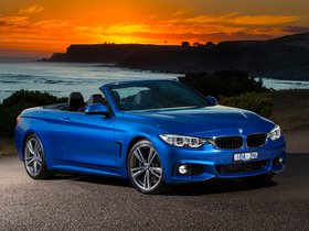 Fotos de BMW Serie 4 435i Cabrio M Sport Package F33 Australia 2014