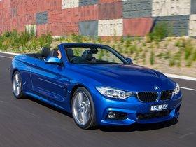 Ver foto 10 de BMW Serie 4 435i Cabrio M Sport Package F33 Australia 2014