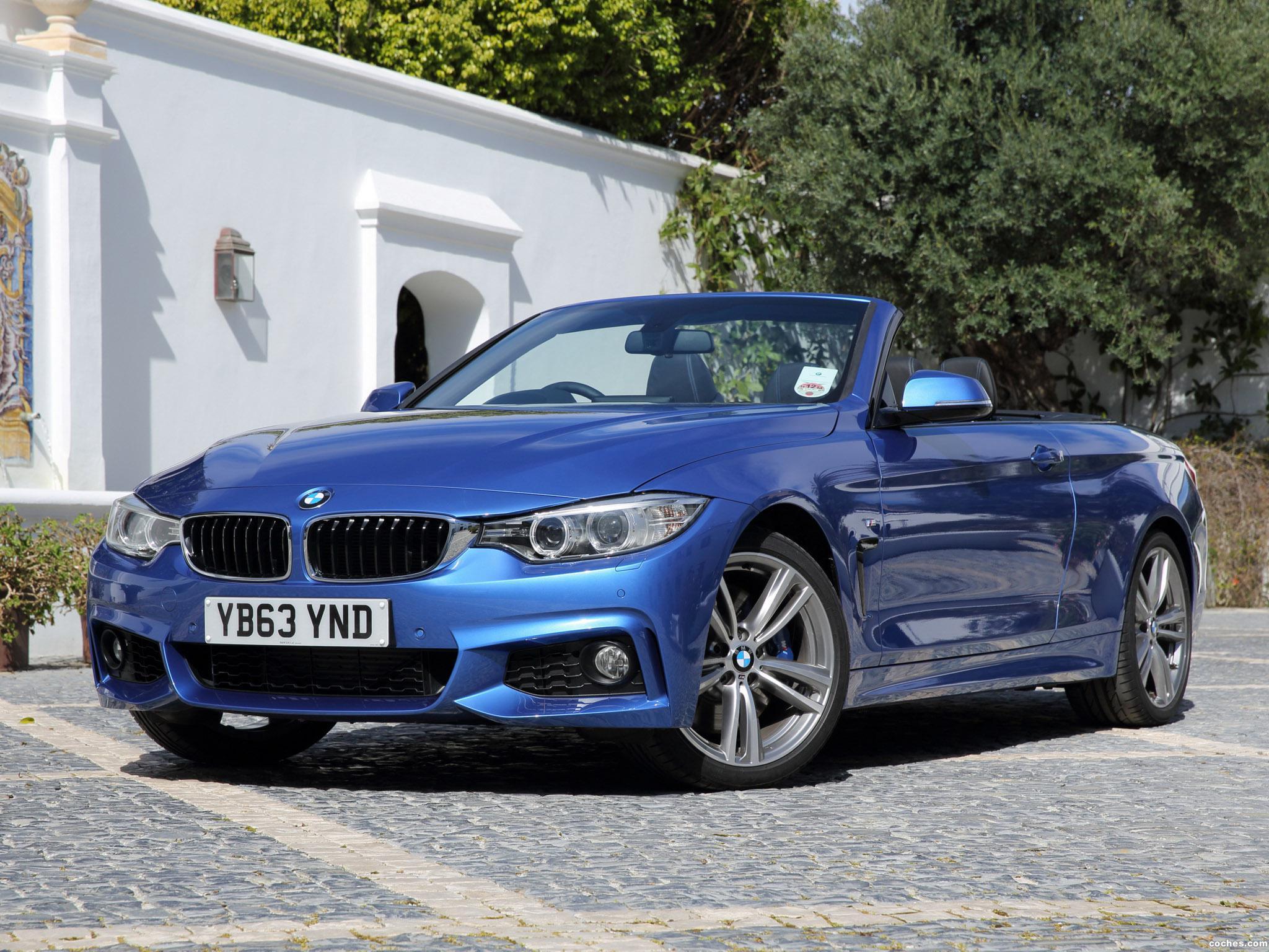 Foto 0 de BMW Serie 4 Cabrio M Sport Package F33 UK 2014