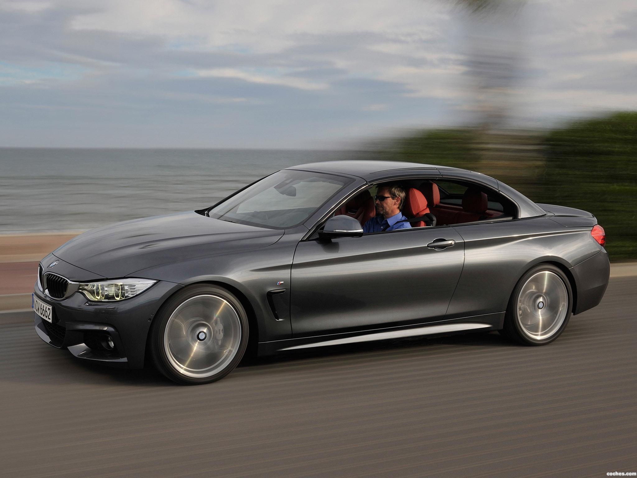 Foto 3 de BMW Serie 4 Cabrio Sport Line F33 2013