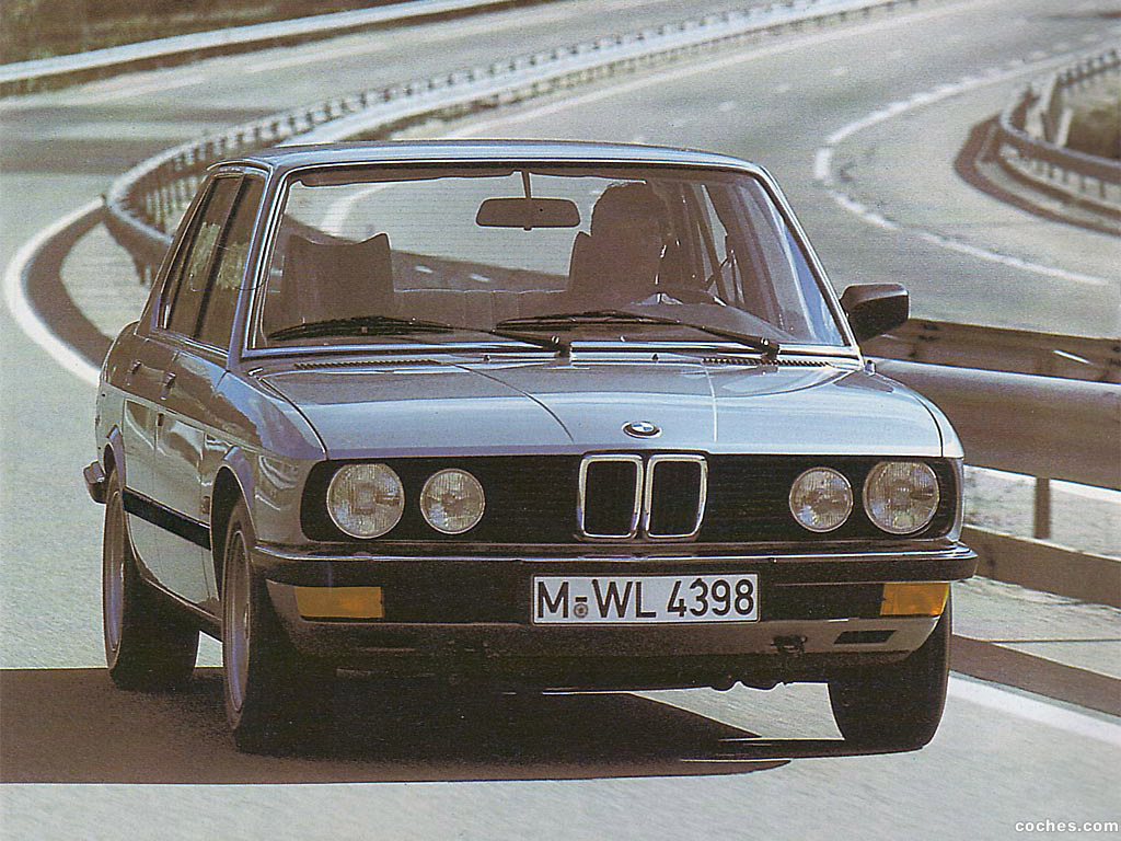 Foto 0 de BMW Serie 5 518 Sedan E28 1981