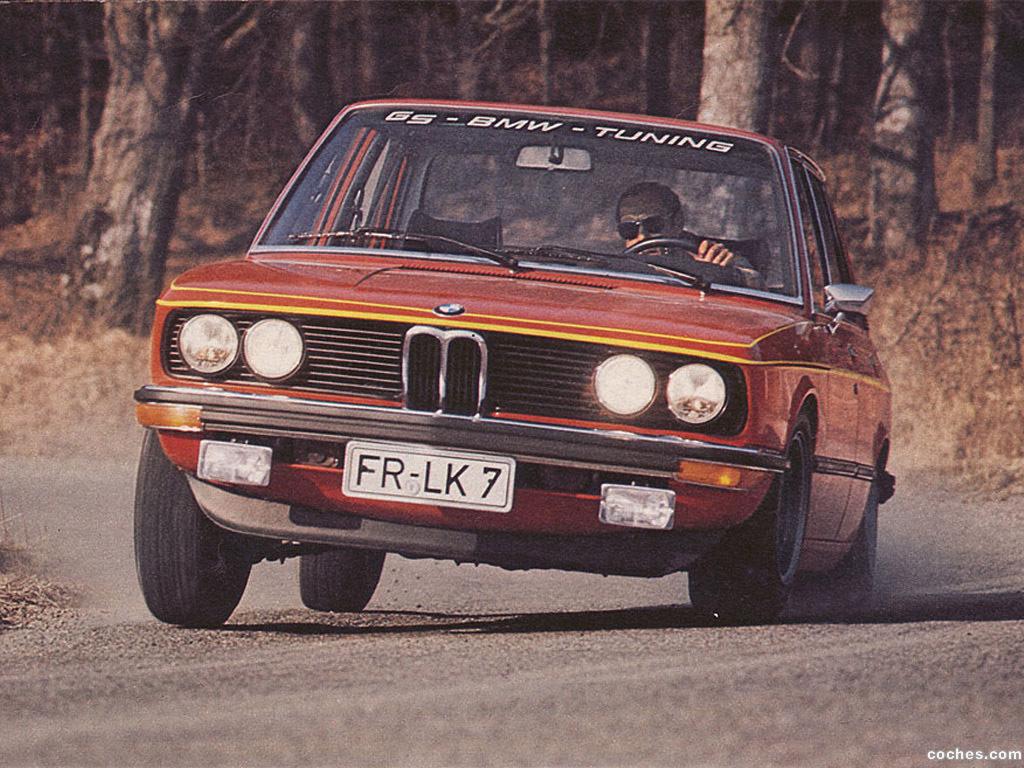 Foto 0 de BMW Serie 5 520 GS Tuning E12 1973